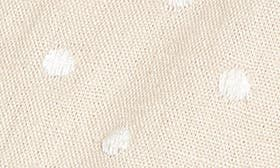 Natural/ Ivory Polka Dot swatch image