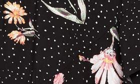 Black/ Pink Floral swatch image