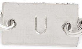 Sterling Silver U swatch image