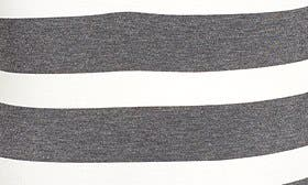 Charcoal/ White Stripe swatch image