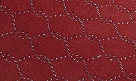 Burgundy Patterned Fabrc swatch image