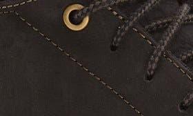 Black/ Dark Shadow Leather swatch image