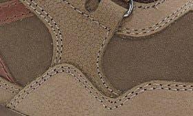 Fog Nubuck Leather swatch image