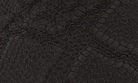 Black Print Leather swatch image