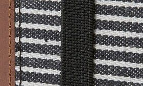 Black/ Grey Stripe Canvas swatch image