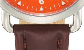 Chocolate/ Orange swatch image