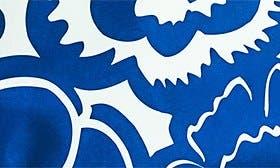 Cobalt Blossoms swatch image
