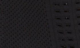 Black Stretch Knit Fabric swatch image