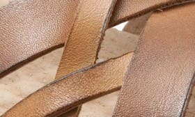 Natural/ Tan Leather swatch image