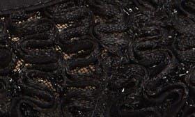Black Lace Fabric swatch image