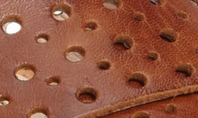 Brandy Camel Leather swatch image