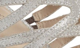 Silver Metallic Suede swatch image