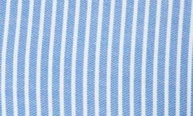 White / Blue Stripe Pique swatch image