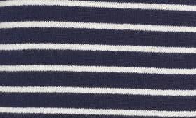 Navy Peacoat- Ivory Stripe swatch image