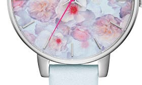 White/ Floral/ Silver swatch image