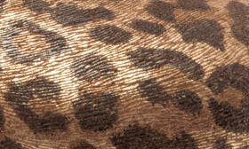 Metallic Leopard Leather swatch image