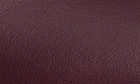 Deep Plum Leather swatch image