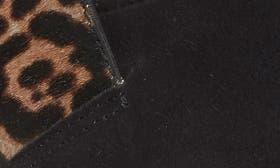 Black/ Ash Jaguar Suede swatch image
