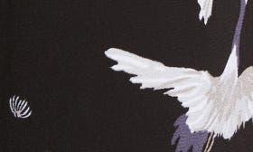 Black Crane Print swatch image
