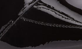 Black Patent Leather swatch image