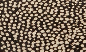 Black Dotted Calf Hair Leather swatch image