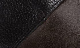 Lead Black Leather swatch image