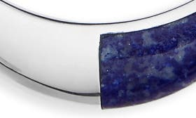 Sterling Silver/ Lapis swatch image