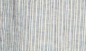 Ivory- Navy Seaside Stripe swatch image