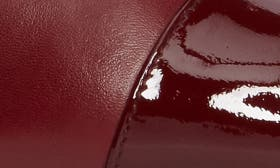 Cherry Combo Leather swatch image