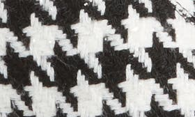 Black White Houndstooth swatch image
