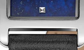 Black/ Lapis/ Silver swatch image
