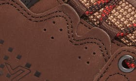 Brown / Red Leather swatch image