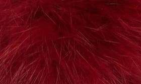 Mulberry Suede/ Fur swatch image