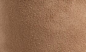 Taupe Stretch Faux Suede swatch image