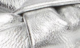 Silver Metallic Leather swatch image
