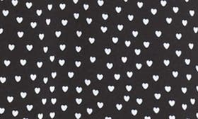 Black White Hearts swatch image