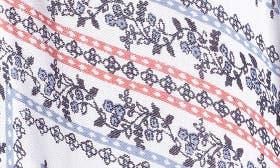 Blue Starflower Paisley Print swatch image