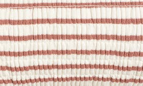Rose/ Ivory Stripe swatch image