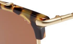 Tortoise/ Matte Gold/ Brown swatch image