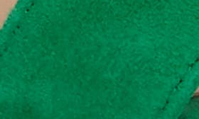 Green Suede swatch image