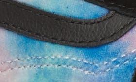 Velvet Tie-Dye Multi/ Black swatch image