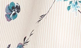 Pinstripe Floral swatch image