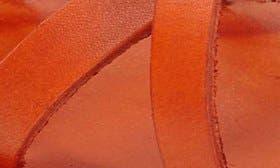 Orange Leather swatch image