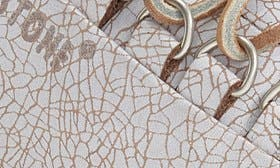 Hazel/ White Leather swatch image
