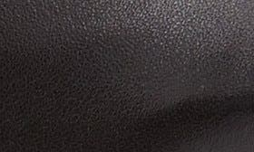 Black Nappa Leather swatch image