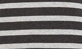 Heather Charcoal- Grey Stripe swatch image