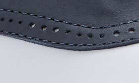 Navy/ White Leather swatch image