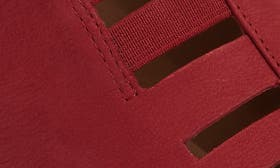 Ruby Red Nubuck Leather swatch image