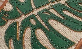 Green Palm Print swatch image