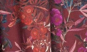 Burgundy Francesca Floral swatch image